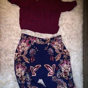 Women's pant set